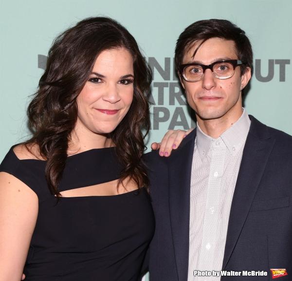 Lindsay Mendez and Gideon Glick