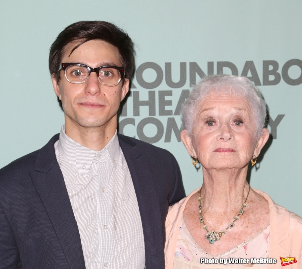 Gideon Glick and Barbara Barrie