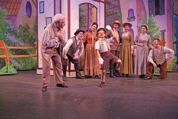 Photos: First Look at MTWichita's MY SON PINOCCHIO; Schwartz & Stern Set for Opening Night