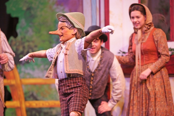 Photo Flash: First Look at MTWichita's MY SON PINOCCHIO; Schwartz & Stern Set for Opening Night