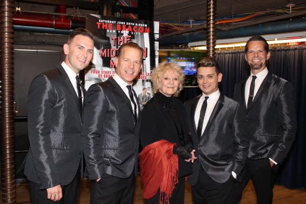 Daniel Reichard, Christian Hoff, Petula Clark, Michael Longoria and J. Robert Spencer