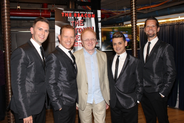 Daniel Reichard, Christian Hoff, Peter Asher, Michael Longoria and J. Robert Spencer