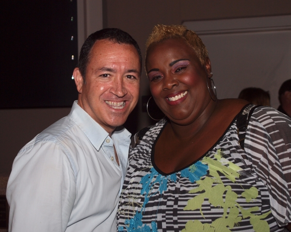 Steven Glaudini and Vonetta Mixson Photo