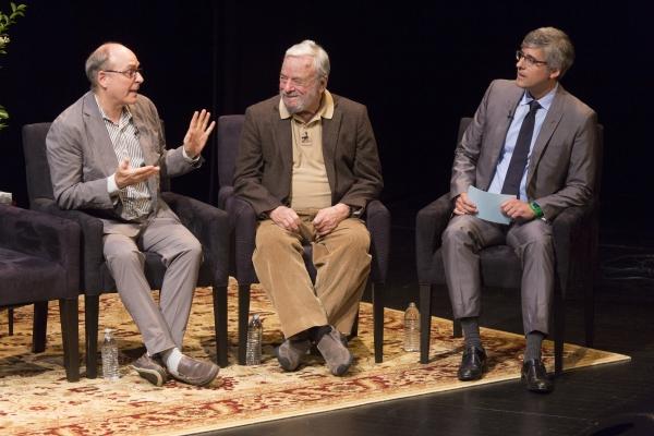 James Lapine, Stephen Sondheim, Mo Rocca