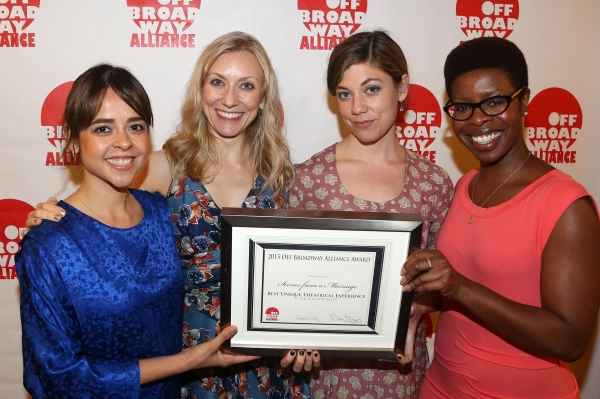 CENES FROM A MARRIAGE stars Emma Ramos, Tina Benko, Susannah Flood, Roslyn Ruff