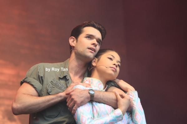 Chris Peluso, Eva Noblezada Photo