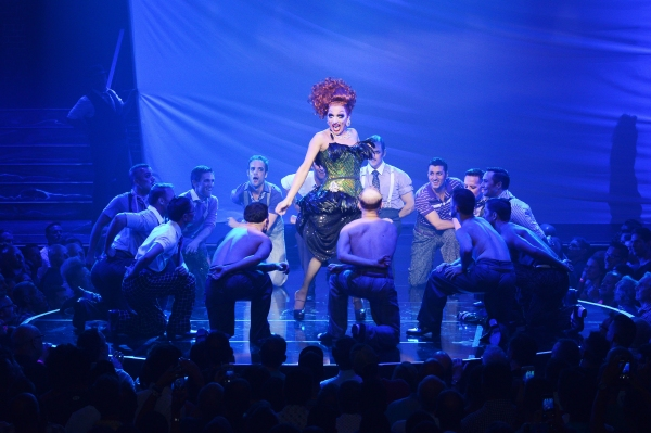Photo Flash: BROADWAY BARES 2015 Strips Past Records with $1,598,501 Raised; See Scintillating Production Shots!