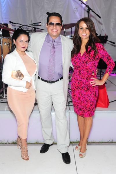 Rosalie Puente, Tito Puente Jr., Audrey Puente