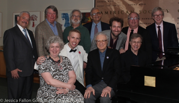 Elliot Brown, Andre Bishop, John Weidman, Richard Maltby Jr, Richard Terrano, Patrick Cook, Maury Yeston, Sam Carner, Sheldon Harnick, Sam Willmott and Sarah Douglas