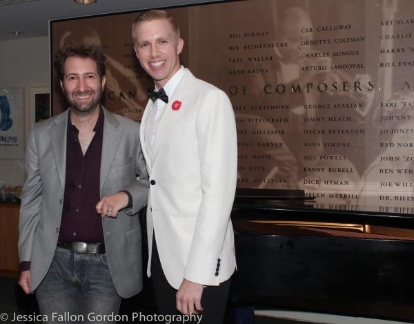 Photo Coverage: Sam Carner and Sam Willmott Receive 2015 Kleban Prizes!