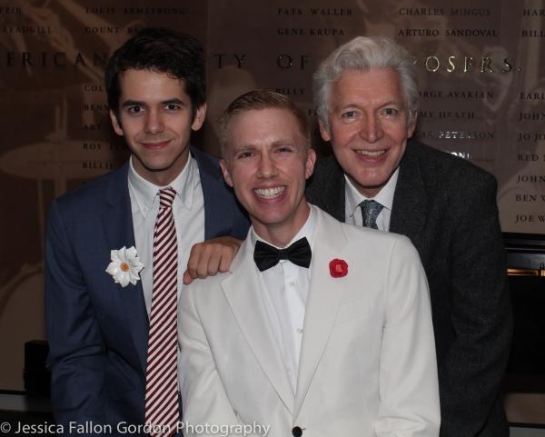 Matt Aument, Sam Willmott and Tony Sheldon