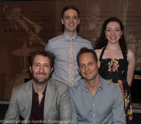 Sam Carner, Stephen Cristopher Anthony, Derek Gregor and Emily Rogers