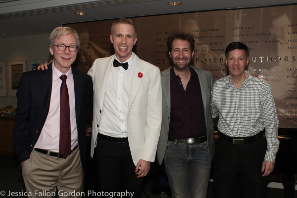 Patrick Cook, Sam Willmott, Sam Carner and Michael Kerker