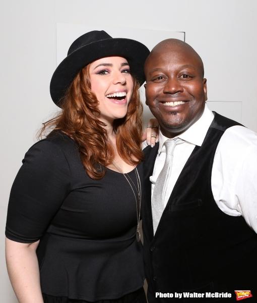 Alysha Umphress and Tituss Burgess