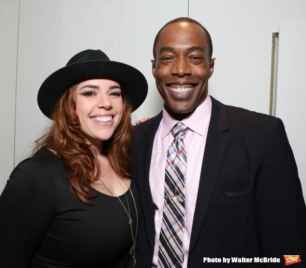 Alysha Umphress and Michael McElroy