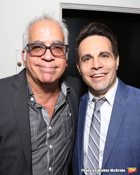 Richard Jay-Alexander and Mario Cantone attend ''Parlor Night'' A benefit evening for The Broadway Inspirational Voices Outreach Program at the home of Roy and Jenny Neiderhoffer on June 22, 2015 in New York City.