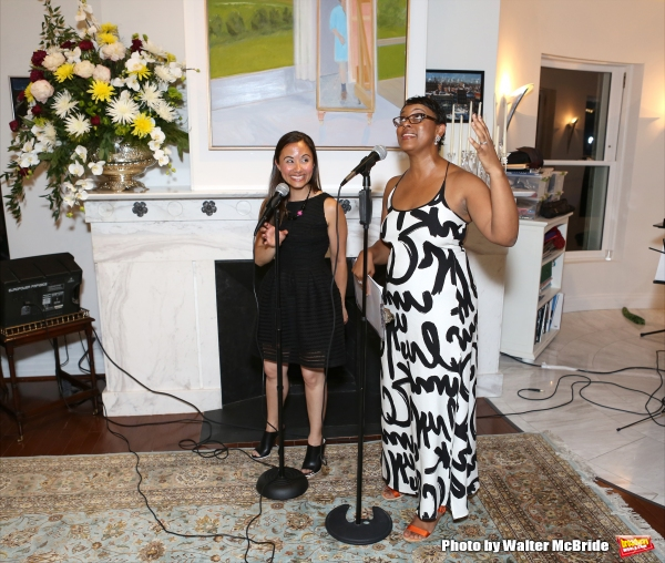 Di Ana Pisarri and Schele Williams attend ''Parlor Night'' A benefit evening for The  Photo
