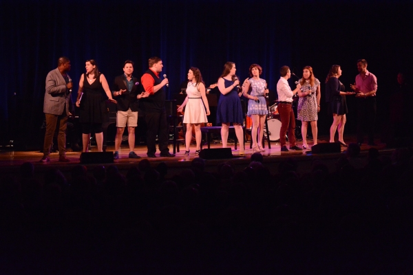 The Broadway By The Years Chorus-Ally Bonino, Elijah Caldwell, Kristin Dausch, Madeline Hamlet, Mary Lane Haskell, Emily Iaquinta, Ricky Alan Saunders, Ryan Scoble, Hannah Solow, Justin Talkington and Matt Weinstein