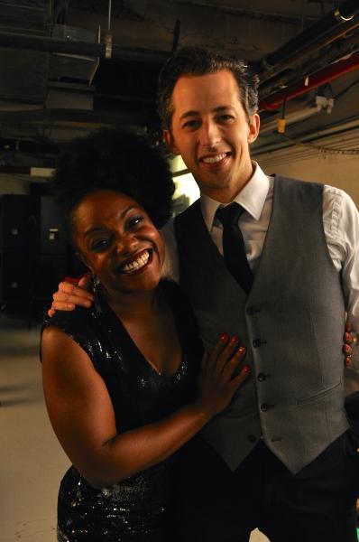 Kenita Miller and Josh Grisetti Photo