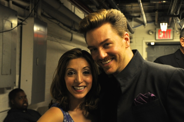 Christina Bianco and Brian Charles Rooney