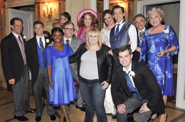 Photo Flash: Rebel Wilson Visits IT SHOULDA BEEN YOU on Broadway