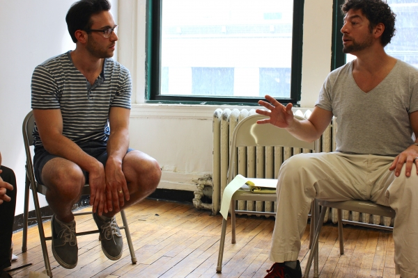 Photo Flash: In Rehearsal for THE COBALTEANS at NYMF