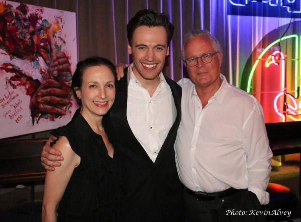 Bebe Neuwirth, Erich Bergen and Chris Calkins