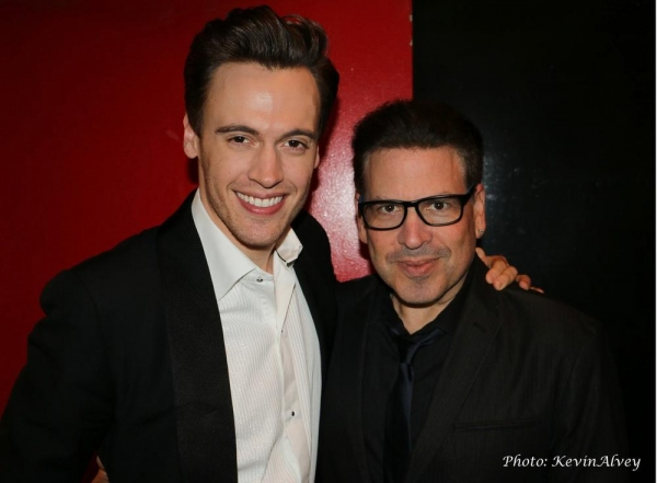Erich Bergen and Michael Orland