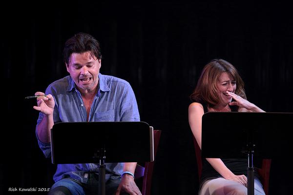 Hunter Foster makes a bold character choice. Kate Wetherhead responds accordingly.