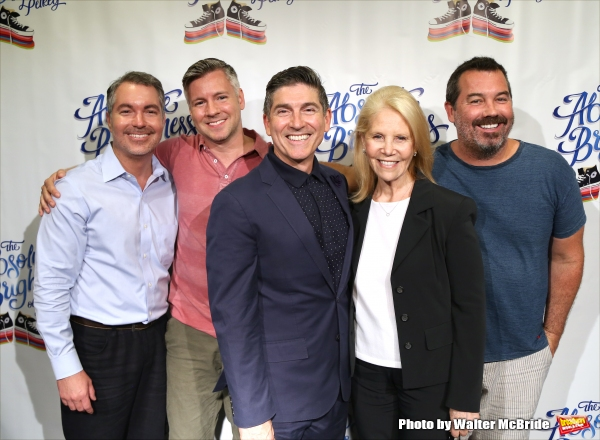 Darren Bagert, Tony Speciale, James Lecesne, Daryl Roth and Duncan Sheik Photo