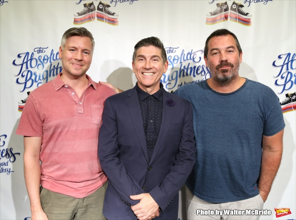 Tony Speciale, James Lecesne and Duncan Sheik