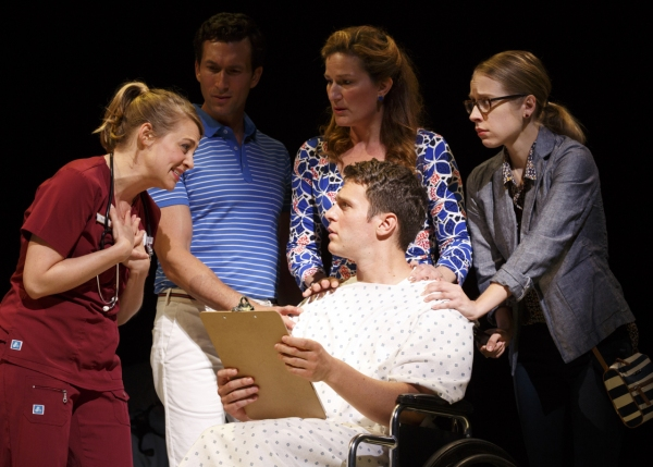Photo Flash: First Look at Jonathan Groff, Ana Gasteyer & More in Encores! Off-Center's A NEW BRAIN
