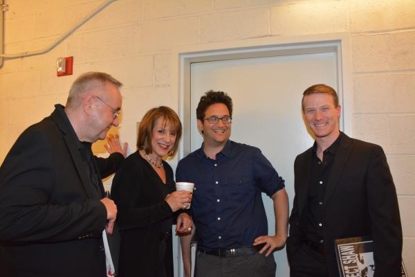 Michael Sommers, Jana Robbins, Jason Zinoman and Jeff Kready