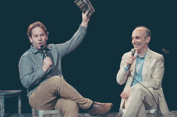 Photo Flash: The Barrow Group Hosts Mike Birbiglia in Conversation with Seth Barrish