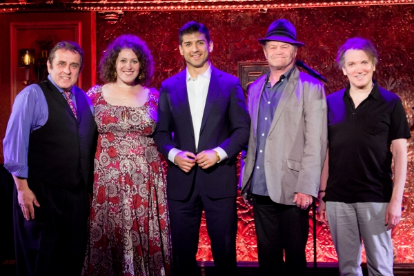 Michael McCormick, Lucia Spina, Tony Yazbeck, Micky Dolenz, Charles Busch