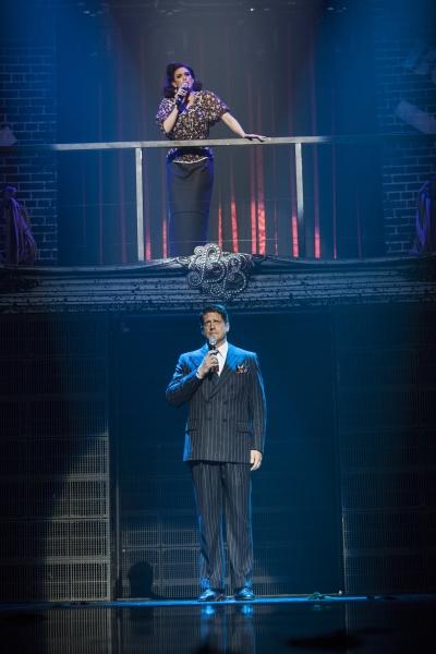Lesli Margherita and Christopher Sieber