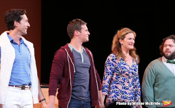 Photo Coverage: And They're Off! Encores! A NEW BRAIN Cast Takes Opening Night Bows