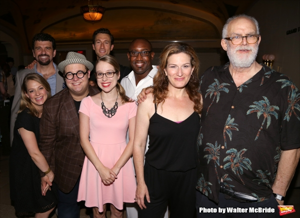 Photo Coverage: A NEW BRAIN Company Celebrates Another Encores! Opening Night