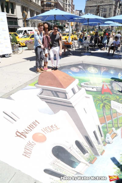 Photo Coverage: Brandy Norwood, Nate Berkus and More Help Bring Anaheim to the Big Apple