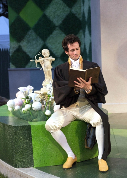 Photo Flash: First Look at LOVE'S LABOUR LOST at Shakespeare Theatre of New Jersey