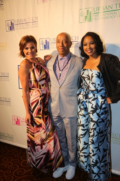 Left to Right: Countess Luann de Lesseps, Russell Simmons, & Alicia Quarles Getty, Johnny Nunez