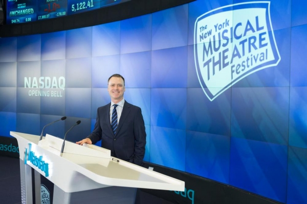 Photo Flash: NYMF Rings the NASDAQ Opening Bell