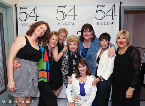 Kata Cots, Liz Callaway, Marilyn May, Ann Hampton Callaway, Susan Claassen, Pam Mcnai Photo