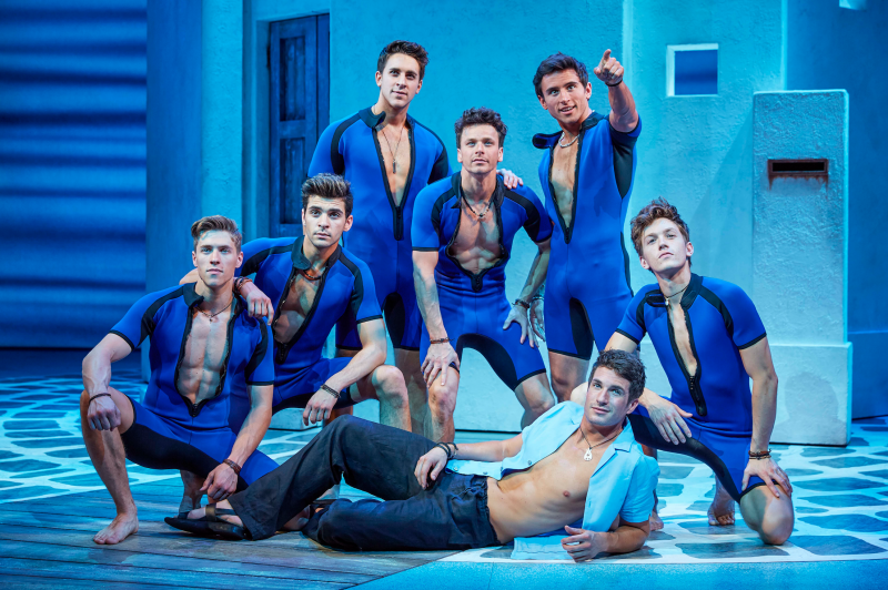 photo flash first look at new cast of west ends mamma mia