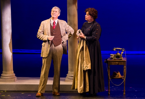 Charles Shaughnessy, Ellen Peterson