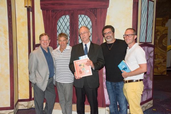 Creators David I. Stern (libretto) and Stephen Schwartz (music and lyrics) attend opening night of MTWichita''s MY SON PINOCCHIO