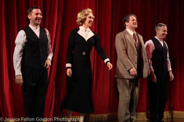 Billy Carter, Brittany Vicars, Robert Petkoff and Arnie Burton Photo