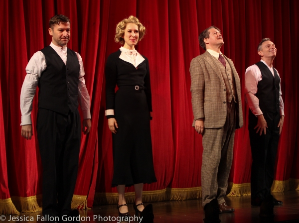 Billy Carter, Brittany Vicars, Robert Petkoff and Arnie Burton, Photo