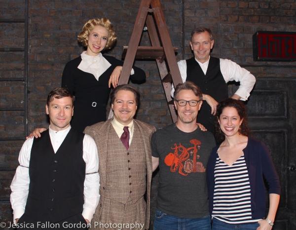 Billy Carter, Brittany Vicars, Robert Petkoff, Daniel Harray, Arnie Burton and Barrie Photo