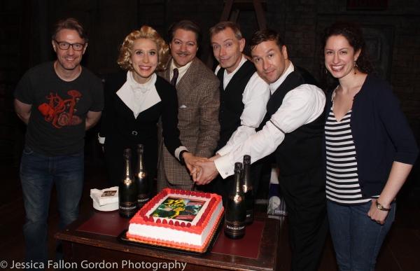 Daniel Harray, Brittany Vicars, Robert Petkoff, Arnie Burton, Billy Carter and Barrie Photo